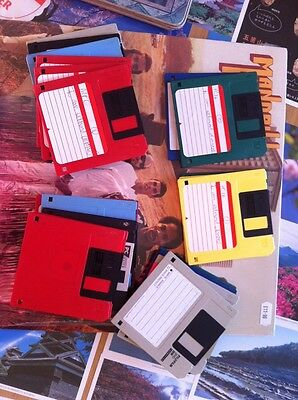 Floppy Disks - Assorted, Mainly Used For Music Production - Approx 200