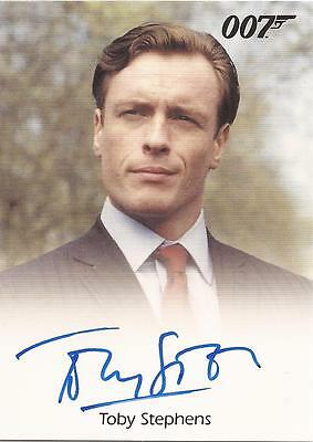 "James Bond Mission Logs - Toby Stephens ""Gustav Graves"" Autograph Card"
