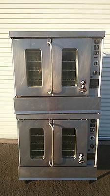 Montague Double-Stack Convection Oven Model 2-115AEI in Natural Gas
