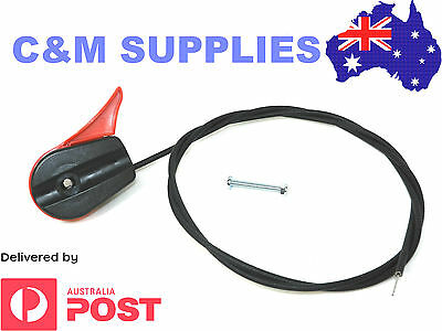 Lawn Mower Throttle Cable Heavy Duty Wire bound and Plastic Coated Most Brands
