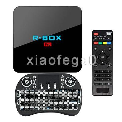Octa Core S912 Android 6.0 Smart TV BOX 17.0 Fully Loaded 3G+16G WIFI In AU Ship