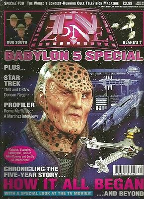 TV Zone Special 30  babylon 5 Special August 1998
