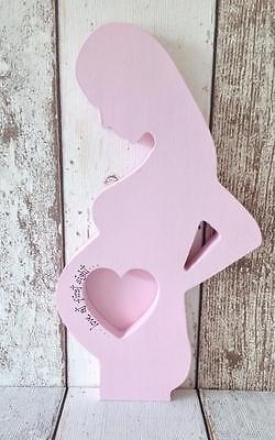 Freestanding 'Love at first sight' Scan Photo Frame*Mum to be/Baby Shower Gift*