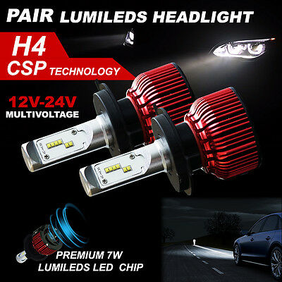 H4 168W LED Headlight KIT 18500LM Philips  HIGH LOW Beam Replace Halogen Xenon