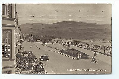 Old Judges postcard, Barmouth promenade, Merionethshire, Wales.