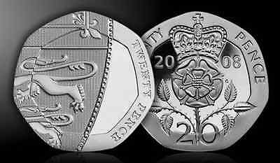 BU BUNC Decimal 20p Coin Brilliant Uncirculated 20p Coin Various Years Available
