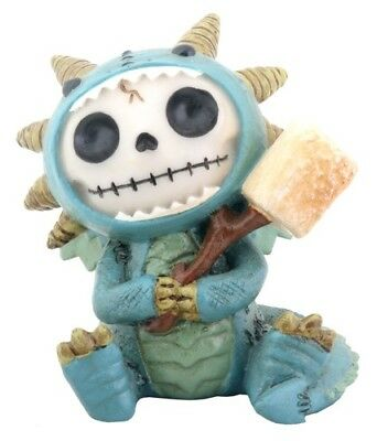 FurryBones Scorchie Figurine Dragon Cute Gothic Cool Skull Skeleton Gift Fun New