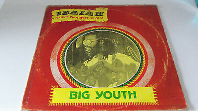 Big Youth - Isaiah First Prophet Of Old  Lp  Reggae/roots