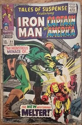 Tales of suspense feat Iron Man and Captain America vol I # 89