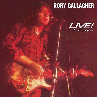 Rory Gallagher Live In Europe Lp Vinyl 33Rpm New