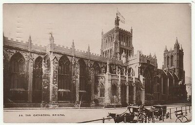 The Cathedral, Bristol, 1910 - AGS RP Postcard