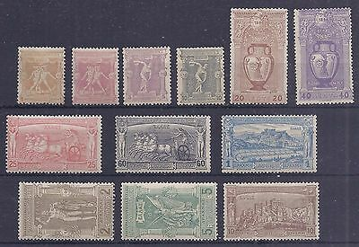 Greece 1896 Olympic Games set of 12 originals hinged mint