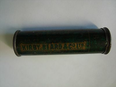 An Antique Or Vintage Kirby, Beard & Co Needle Tin & Contents.