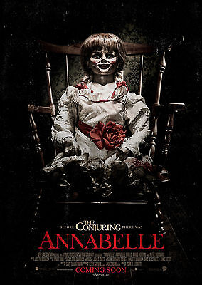 Annabelle (2014) - A1/A2 POSTER **BUY ANY 2 AND GET 1 FREE OFFER**