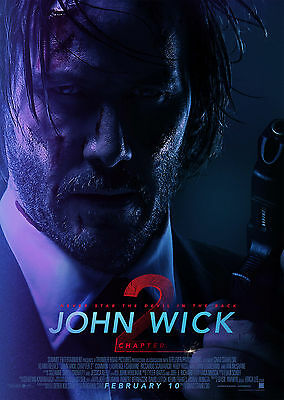 John Wick Chapter 2 (2017) V3 - A1/A2 POSTER **BUY ANY 2 AND GET 1 FREE OFFER**