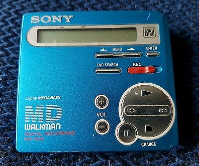 Sony Minisc Walkman MZ-R70 working with new discs