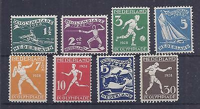 Netherlands 1928 Olympics set of 8mint never hinged