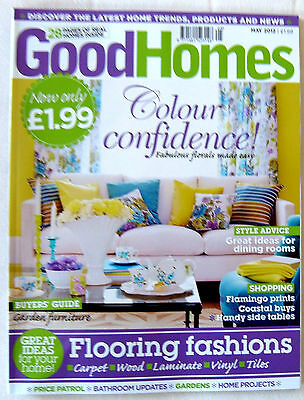 Good Homes Magazine May 2012   very good condition