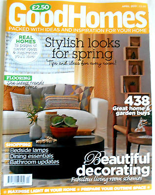 Good Homes Magazine April 2013 Stylish Looks for Spring Flooring Bedside Lamps