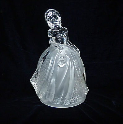 Rcr Royal Crystal Rock - Lady Figurine 24% Lead Crystal 5.5 Inches Tall