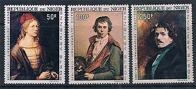 Niger 1967 Paintings by Durer SG 244/6 MNH