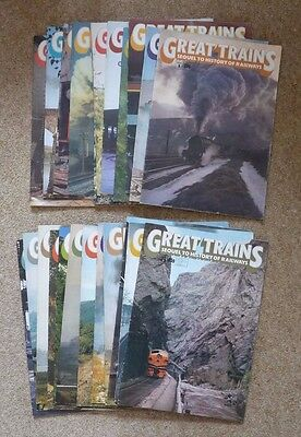 GREAT TRAINS Magazine Issues 1-24