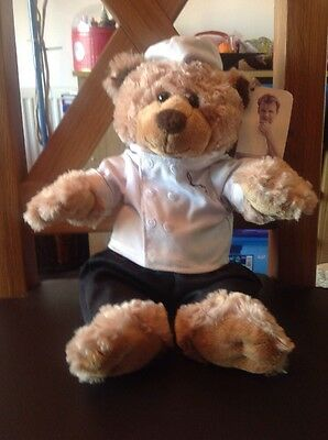 Gordon Ramsay Chef Teddy Bear with tags