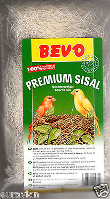 SISAL NESTING MATERIAL for Breeding Birds Finch Canary British 100grams