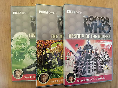 Bundle of 3 Doctor Who DVDs