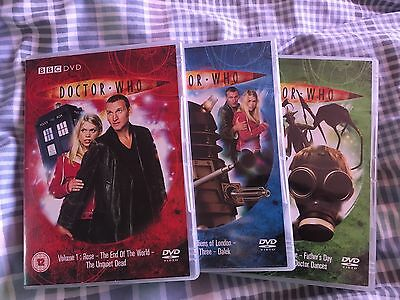 Doctor Who (Christopher Eccleston) Volumes 1, 2 & 3