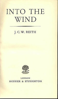 Bbc British Broadcasting Corporation Reith Autobiography First Edition