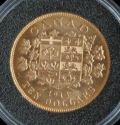 1913 $10 Hand-Selected Gold Coin - Canada's First Gold Coins