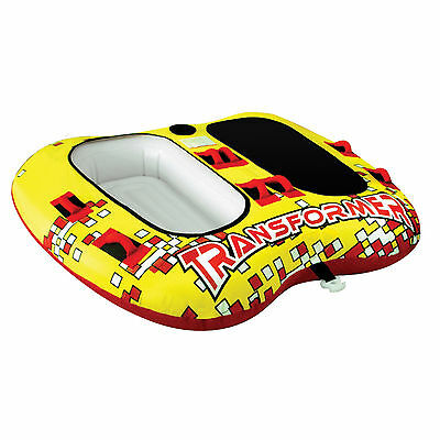 Airhead Transformer 2 Person Double Rider Inflatable Towable Lake Tube | AHTF-2