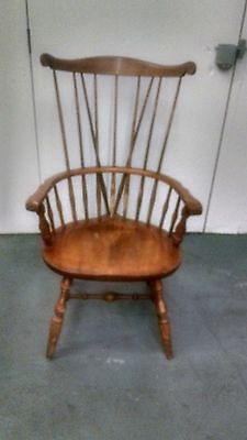 Vintage Nichols and Stone wood chair.