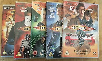 Bundle of 5 Doctor Who DVDs - David Tennant Specials