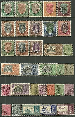 BRITISH INDIA A collection of (32) used stamps