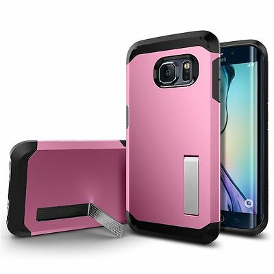 Tough Hard Back Ultra Slim Hybrid Case Cover For Samsung Galaxy S6 Pink 05