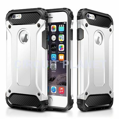 Hybrid Shockproof Hard Heavy Duty Case Cover For Iphone 7 Plus White 06