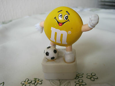 "M&m M&ms Happy 2"" Yellow Footballer Topper"
