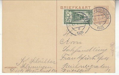 Netherlands 1925 card to Germany (64-109)