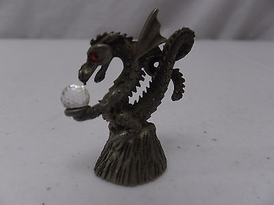 Spoontiques CMR 883 Pewter Miniature Figurine Collectible Rare Dragon Small