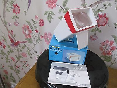 """Photax Solar 4 For 2"""" X 2"""" Mount Slide Viewer With Original Box And Instructions"""