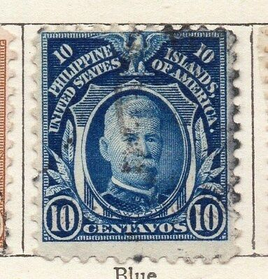 Philippine Islands 1908 Early Issue Fine Used 10c. 123419