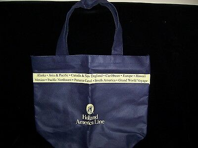 NEW Holland America Cruise Line Navy Blue Tote Bag