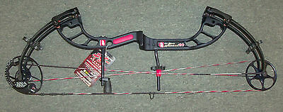 New  PSE Bow Madness 30 Compound Bow 70# Right Hand Black