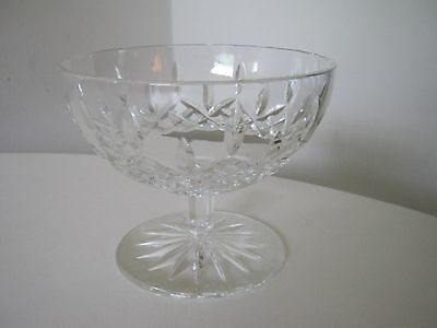 """Waterford Cut Crystal Glass Compote Candy Nut Dish 4 1/4"""" Excellent Condition"""