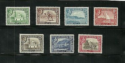 Aden, 1939-48 collection of lower values in set, mounted mint