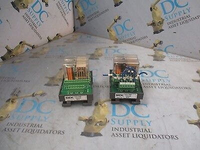 Sick 7022900 Lcu-Fsd Captive Contact Safety Relay Module Lot Of 2