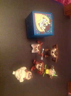 Lot Of Vintage Tasmanian Devil Collectable Warner Brothers Character Toys