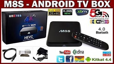 M8S Android Box IPTV KODI XBMC WiFi Amlogic S812 Quad Core 1GB RAM TV ED